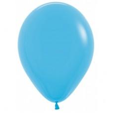 Гелиевый шар Голубой пастель