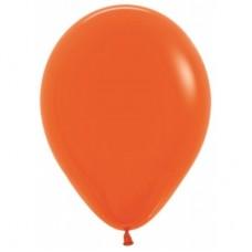 Гелиевый шар Оранжевый Пастель
