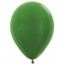 Гелиевый шар Зеленый Металл