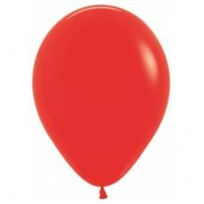 Гелиевый шар Красный Металл