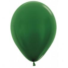 Гелиевый шар Темно-зеленый Металл