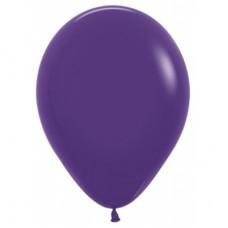 Гелиевый шар Фиолетовый Металл