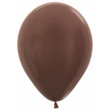 Гелиевый шар Шоколадный Металл