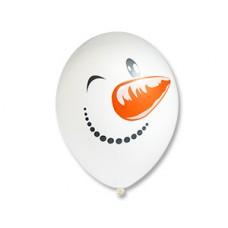 """Гелиевый шар с рисунком """"Снеговик"""""""