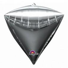 """3D Алмаз Серебро, 16""""/40 см"""