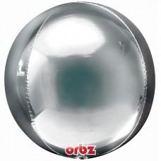 "3D Сфера Серебро, 16""/40 см"