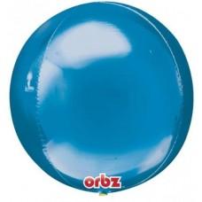 """3D Сфера Голубой, 16""""/40 см"""