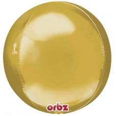 """3D Сфера Золото, 16""""/40 см"""