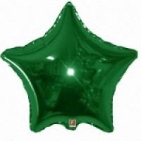 Звезда  Зеленая с гелием