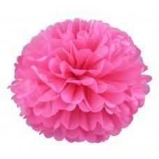 Помпон Ярко Розовый 20см