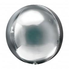 "3D Сфера Серебро, 21""/54 см"