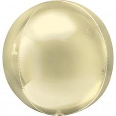 """3D Сфера Желтая, 16""""/40 см"""