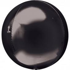 3D Сфера Черный с гелием