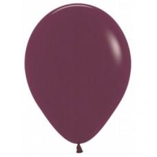 Гелиевый шар Бургундия Пастель