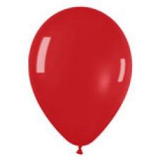 Гелиевый шар Красный Кристалл