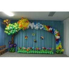 """Оформление шарами """"Сказочный лес"""""""