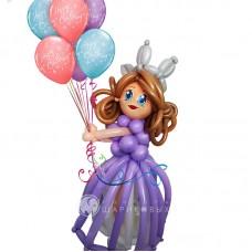 "Фигура ""Принцесса с шарами"""