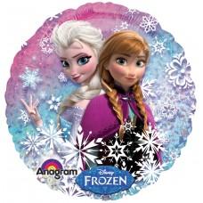 """Воздушный шар """"Холодное сердце"""" Снежный дизайн"""