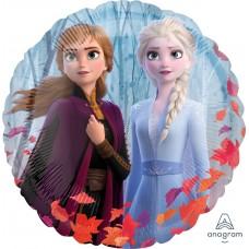 """Воздушный шар """"Холодное сердце"""" Осенний дизайн"""