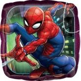 """Воздушный шар """"Человек - паук"""" квадрат"""