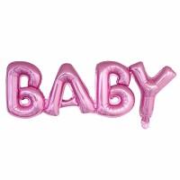 """Фольгированная надпись """"Baby"""""""