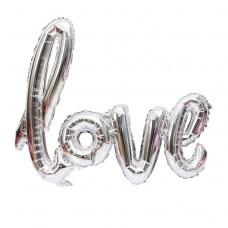 """Фольгированная надпись """"love"""""""