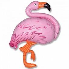 """Фольгированная фигура """"Фламинго"""""""