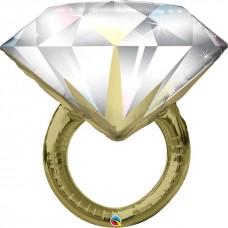 "Кольцо с бриллиантом, 36""/90 см"