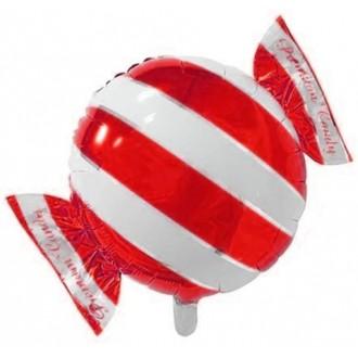 """Круг Конфетка Красный, 18""""/46 см"""