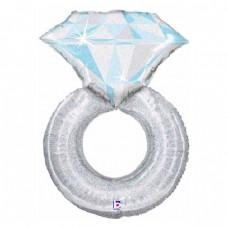 Фольгированный шар Кольцо с бриллиантом