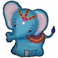 """Фольгированная фигура """"Слоненок"""""""