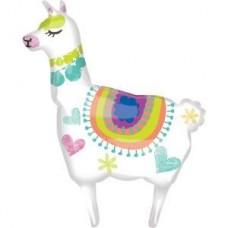 Фольгированная фигура Лама Альпака