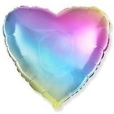 Сердце Радужное Градиент