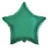 Звезда Зелено-бирюзовая с гелием