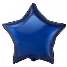 """Звезда Темно синяя, 18""""/46 см"""