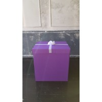 Коробка Сюрприз для шаров (фиолетовая) 60*80*80 см