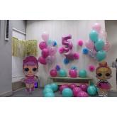 """Оформление шарами """"Куклы"""""""