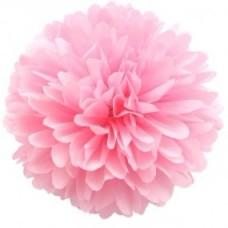 Помпон Нежно Розовый 30см