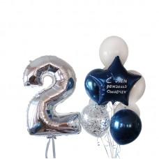"Воздушные шары ""Silver Party"""
