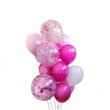 """Воздушные шары """"Розовые фантики"""""""