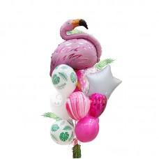"""Воздушные шары """"Тропический фламинго"""""""