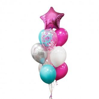 """Воздушные шары """"Мятный пунш"""""""