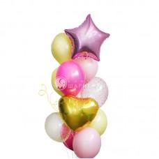 """Воздушные шары """"Счастливой имениннице"""""""
