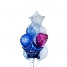 """Воздушные шары """"Blue & Pink"""""""