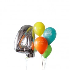 """Воздушные шары """"Расти большой!"""""""