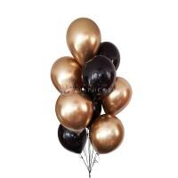 """Воздушные шары """"Золото Хром"""""""