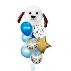 """Воздушные шары """"Мой любимый пёсик"""""""