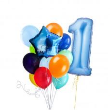 """Сет из воздушных шаров """"Яркий День Рождения!"""""""